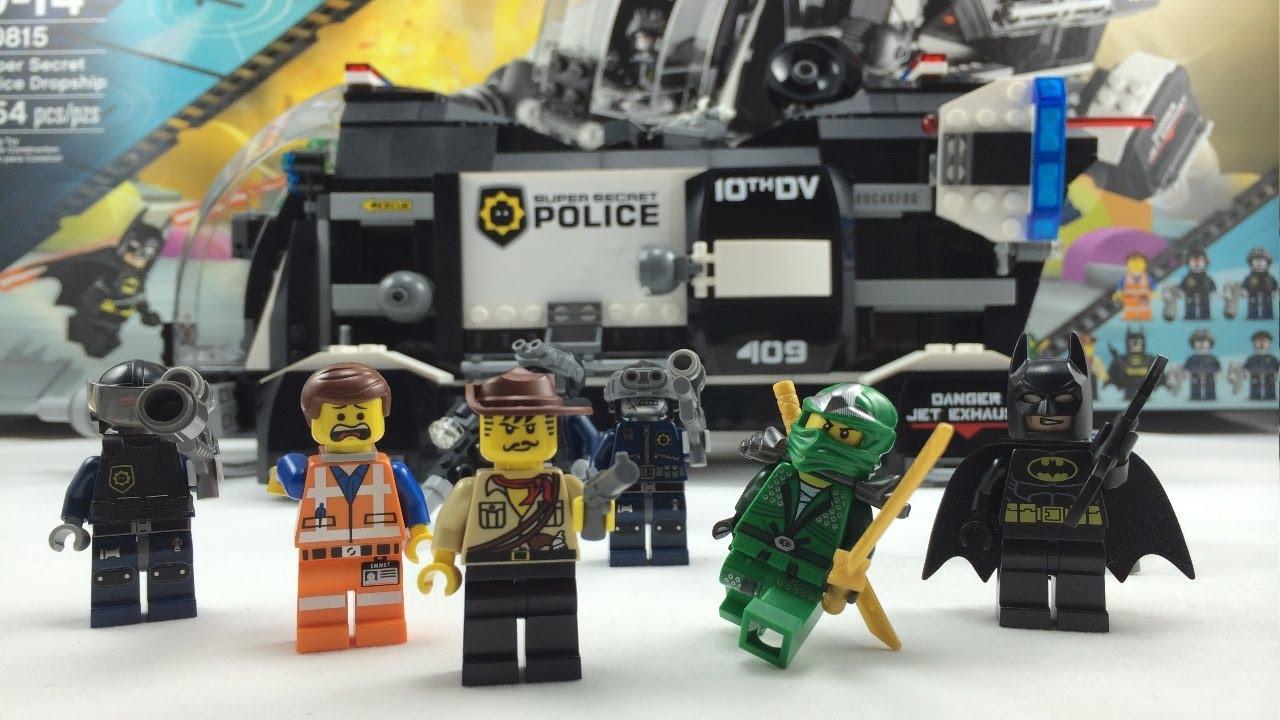 Lego 70815  The Lego Movie Super Secret Dropship