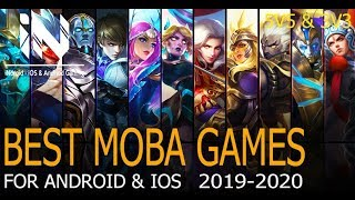 Best Moba Games for Android & iOS 2019