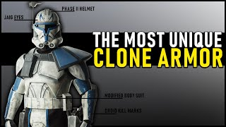 Why Rex had the MOST UNIQUE ARMOR of all Clones (...and the best?)