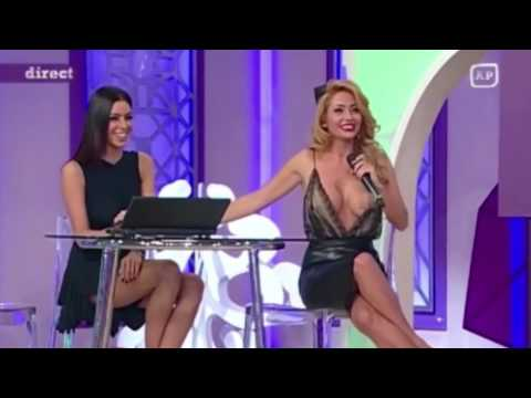 TV presenter left exposed by on air wardrobe malfunction but doesnt even notice