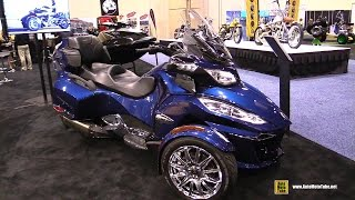 2016 Can am Spyder RT Limited - Walkaround - 2015 AIMExpo Orlando