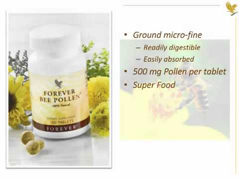 forever-bee-pollen-natural-energy-booster