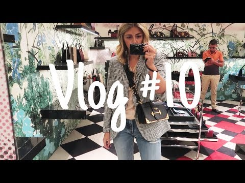 Vlog #10 | What I Wore, Mini Shopbop Haul & Shopping For A Birthday Bag