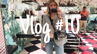 Vlog #10 | What I Wore, Mini Shopbop Haul & Shopping For A Birthday Bag