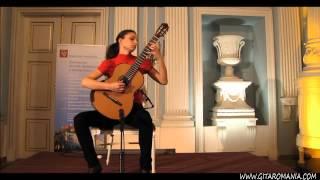 Bianka Szalaty plays J.Turina Hommage a Tarrega op. 69  -SOLEARES