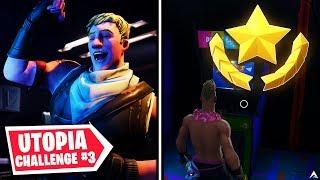 SECRET BATTLE STAR? Utopia Challenges Week 8 (Fortnite Season 9)