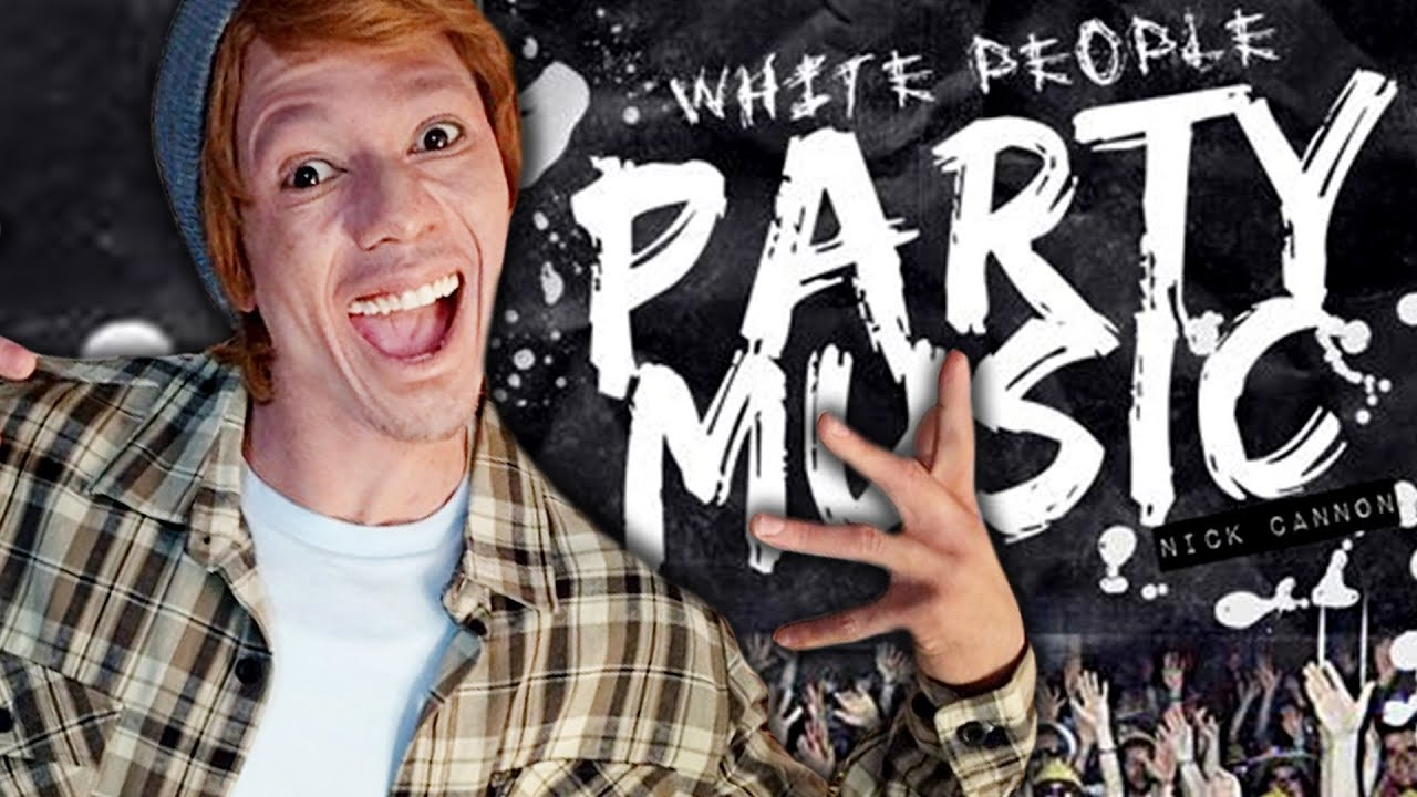 Nick Cannon Whiteface Video Promotes New Album White People Party Music Youtube