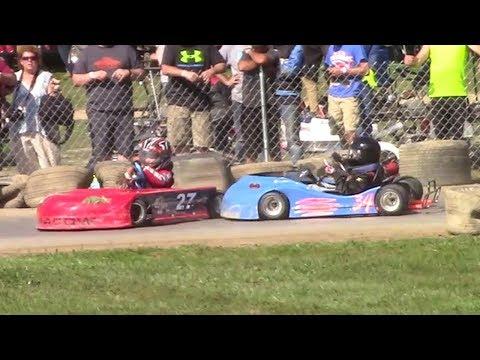 Red Rookie Clone Feature | Eriez Speedway | 9-23-17