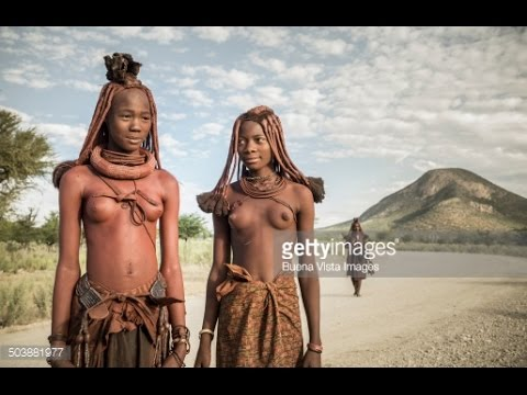 beautiful Himba woman tribe