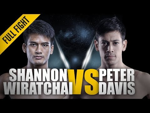 ONE: Full Fight | Shannon Wiratchai vs. Peter Davis | Thrilling Back-And-Forth Battle | Sep 2016