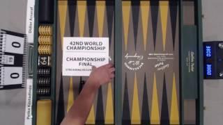 Championship Final with Commentary -- Petko Kostadinov vs. Didier Assaraf -- 19 pts