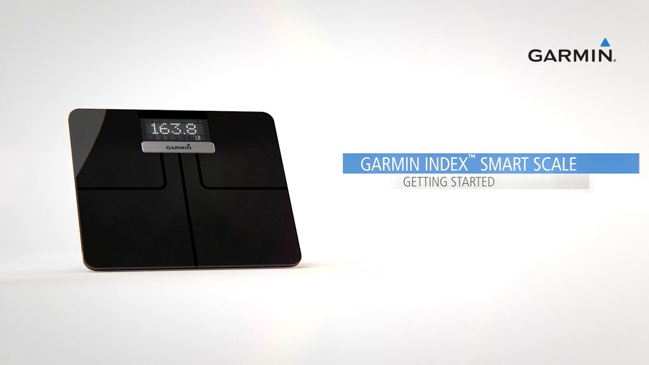 Garmin Index Smart Scale: Getting Started with a Connected Scale