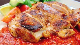 鶏もも肉のトマト味噌ソース|こっタソの自由気ままに【Kottaso Recipe】さんのレシピ書き起こし
