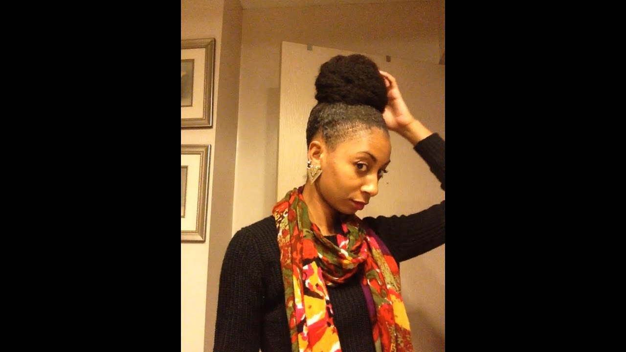 styles with marley hair how to bun with marley hair 1848
