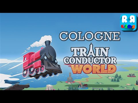 Train Conductor World: European Railway - Unlock Cologne - iOS / Android - Gameplay Video
