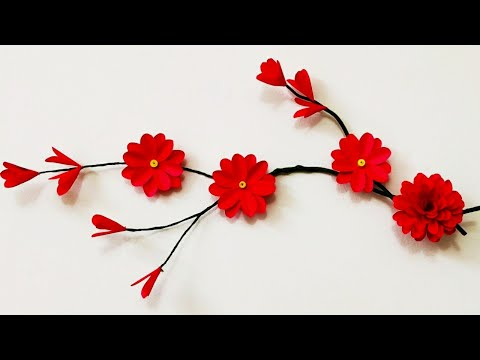 diy-tree-branch-wall-art-decor-|-3d-wall-sticker-|-wall-decoration-idea-#4