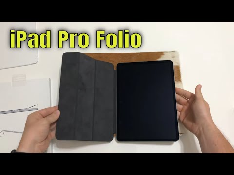 4k Unboxing & Review NEW IPad Pro 2020 Smart Folio 2nd Generation
