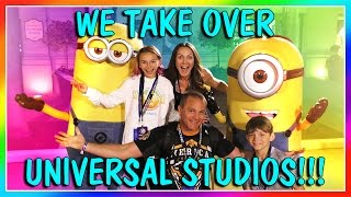 FUNNY MOMENTS AND SCARY RIDES AT UNIVERSAL STUDIOS ORLANDO! | We Are The Davises