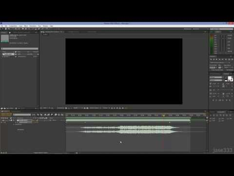 After Effects Tutorial: How to Fade In and Out Audio