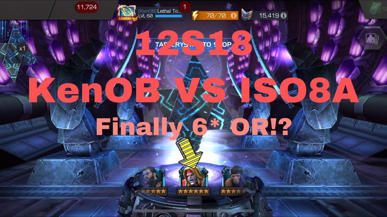 🍅 12S18 KenOB VS ISO8A & Double 6* Opening