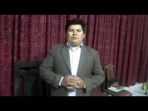Saudação do pastor Edgar da Bolívia para São Pedro da Aldeia -  abril 2019