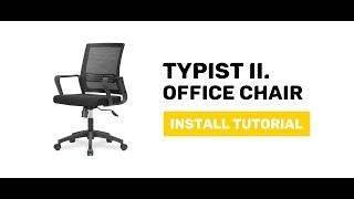 JIJI Typist II. Office Chair - Display and Install Procedure
