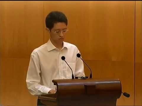 Eulogy Shengwu for Mrs Lee Kuan Yew