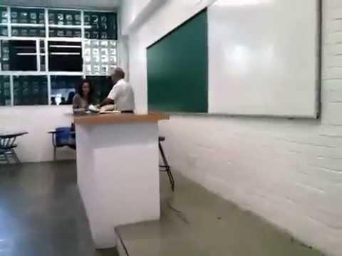 «PELIGRO EVIDENCIA FUERTE» Agresión física por el profesor Teodoro Castro Ruiz
