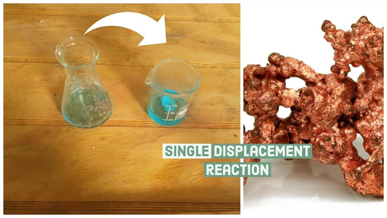 What Is A Single Displacement Reaction(Demonstration)