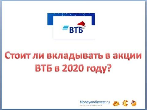 акции ВТБ 2020