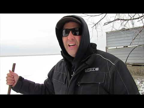 Lake Simcoe Ice Fishing Ice Report Port Bolster Dec 9, 2018