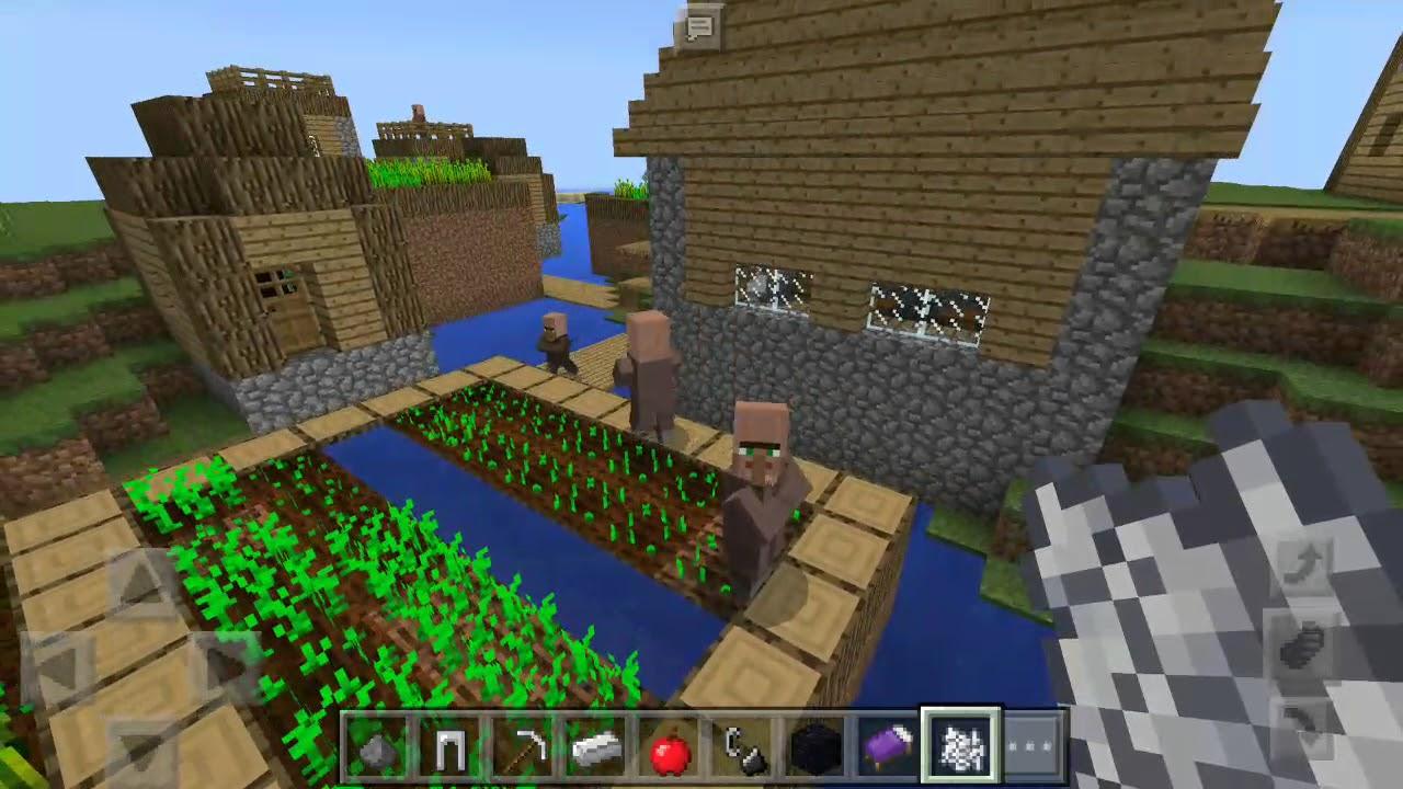 как в майнкрафте вырастить пшеницу #9