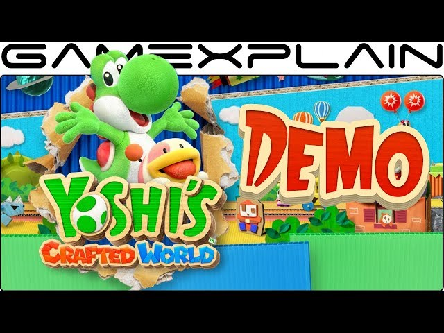Yoshi's Crafted World (видео)