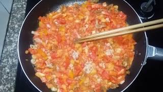 cách làm nước sốt chấm rau xà lách ngon tuyệt.