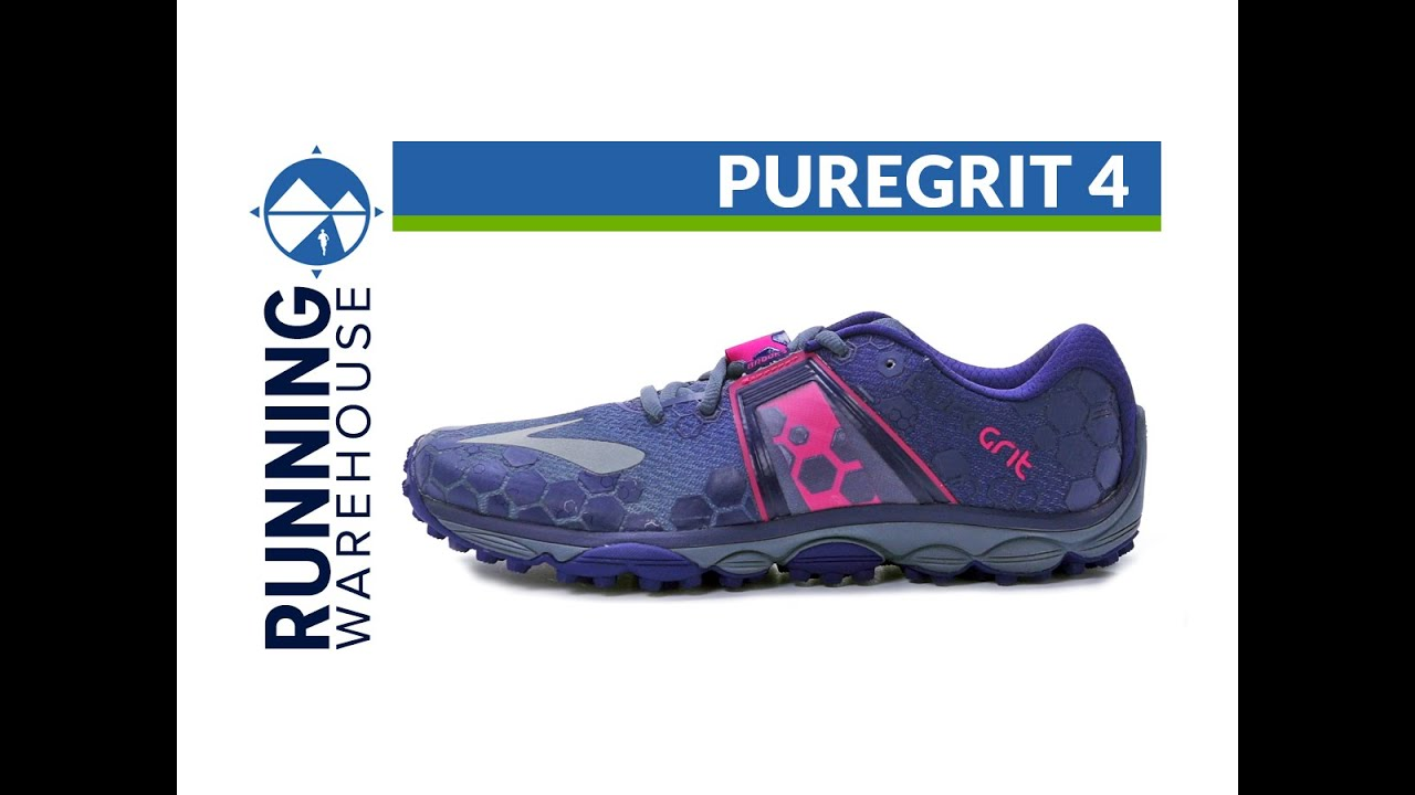 b08a52e51aa Brooks PureGrit 4 for women - YouTube
