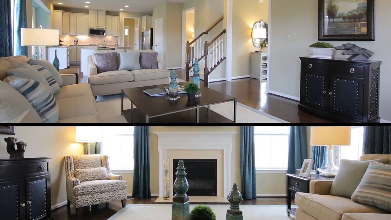 Ryan Homes Ravenna Model Tour   YouTube