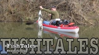 FishTales: Beautiful Day on Yegua creek whitebass & crappie fishing