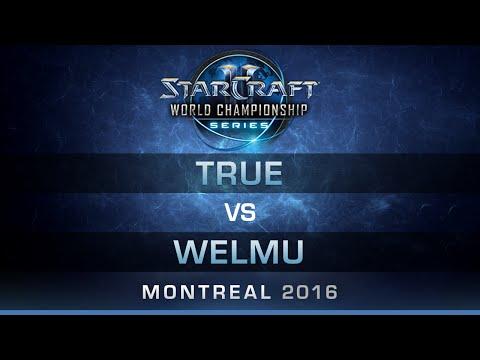 SC2 - True vs Welmu [ZvP] - RO8 - Bo5 - DreamHack Zowie Open Montreal 2016