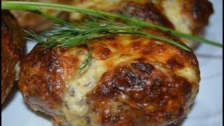 Картофель, запечённый с грибами и сыром