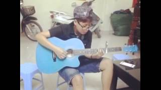 yêu xa   guitar cover by Linh Vu