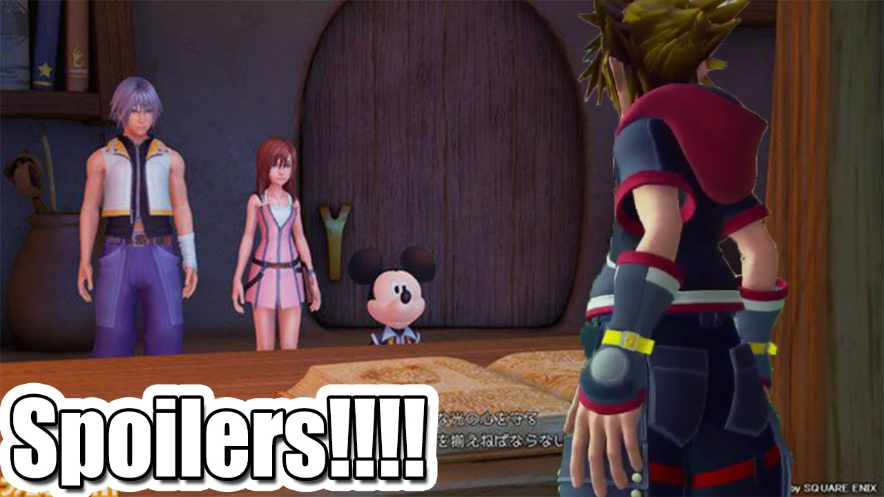 kingdom hearts 3 premium theatre d23 trailer spoilers