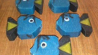 """'Can't find her either!!' Making & Shaping kid's """"Dory"""" -type CP soap Mp3"""