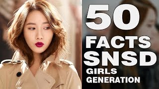 TOP 50 FACTS about Girls' Generation | SNSD