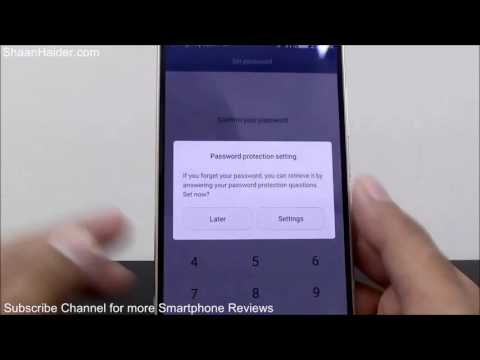 How To Lock Apps On Huawei Mate P8 Mate Honor Plus G8 Etc Without Third