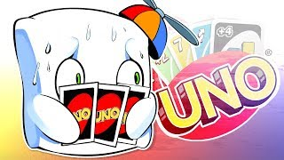 THE MOST INSANE UNO GAME EVER! (UNO Funny Moments)