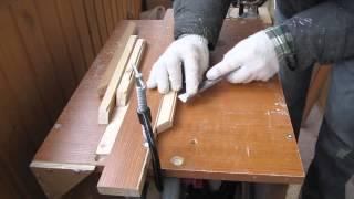 Рамка для картины(В данном видео показан процесс изготовления рамки для картины., 2015-05-02T13:14:15.000Z)