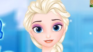 Disney Frozen Elsa Hairstyle Episode - girlgames 2015