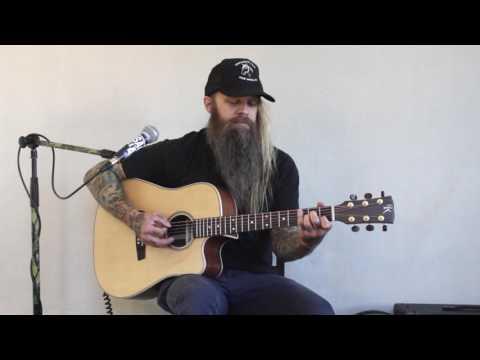 Three Shades of Black - Hank III (cover tutorial) Scott Paul Graham