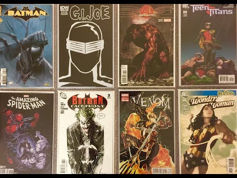 Large comic book haul - minor speculations, fire variants & ghost hunting
