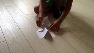 Как сделать самолёт-трансформер из бумаги(через YouTube Объектив., 2015-08-23T10:12:55.000Z)